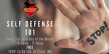 Self Defense 101 - FREE Workshop tickets