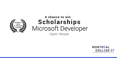 Microsoft Developer - A Chance to Win Scholarship in June tickets