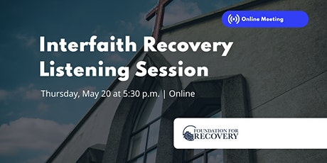 Nevada Interfaith Recovery Listening Session tickets