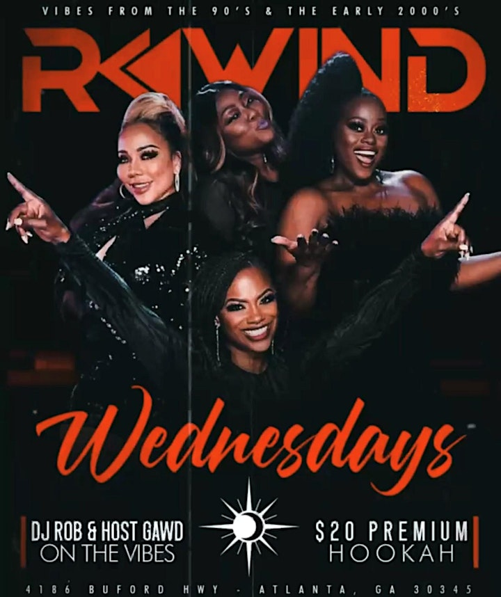 REWIND WEDNESDAYS VIBES FROM THE EARLY 90's & THE EARLY 2000's image