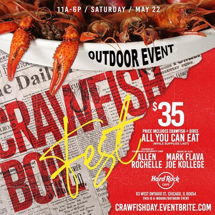Crawfish Boil Fest ( Louisiana Style Outdoor Day Party) image