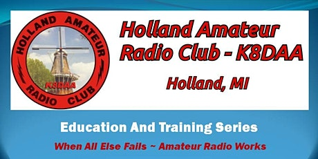 Holland Amateur Radio Club Education and Training Session tickets