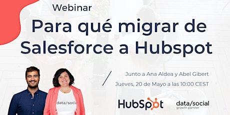 Para qué migrar de Salesforce a HubSpot tickets