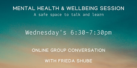 Mental Health & Wellbeing Session tickets