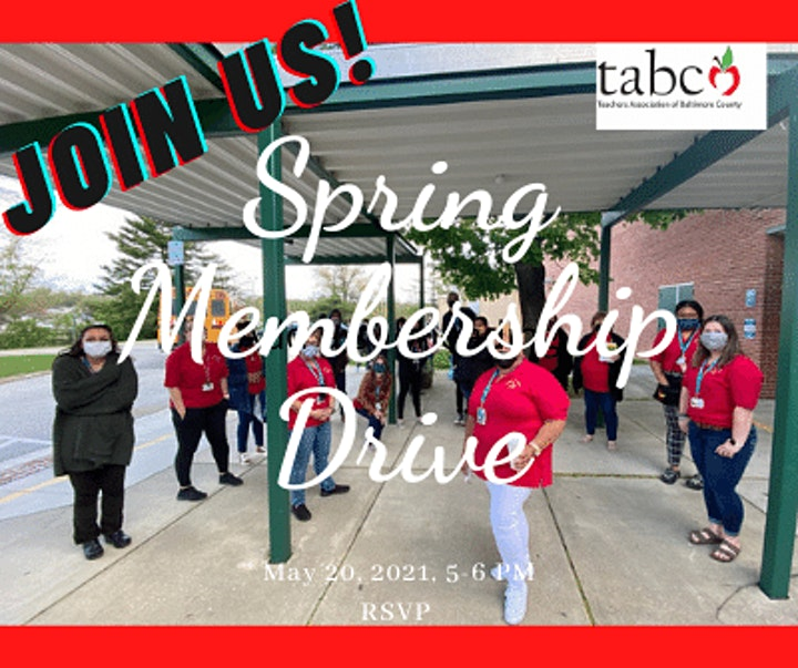 TABCO Spring Membership Drive image