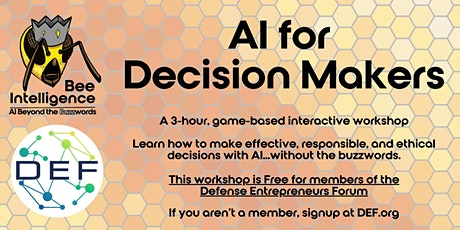 DEF-Only AI for Decision Makers : Beyond the Buzzwords tickets