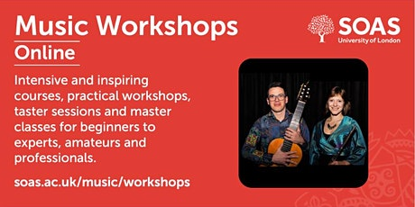 SOAS Summer Workshop: Brazilian Choro tickets