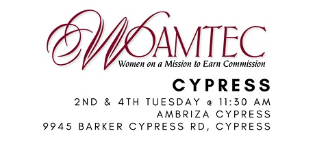 Women on a Mission to Earn Commission Cypress tickets