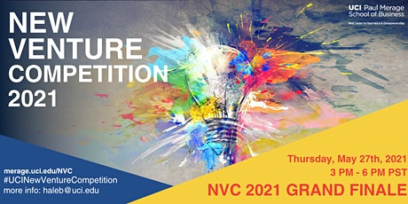 UCI New Venture Competition 2021 Grand Finale tickets