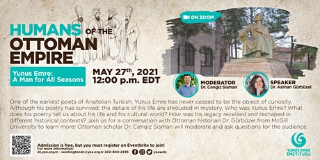 """Humans of the Ottoman Empire: """"Yunus Emre: A Man for All Seasons"""" tickets"""