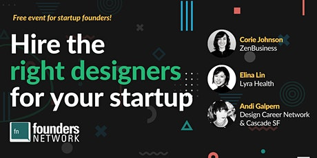 How to Hire Right Designers for your Startup tickets