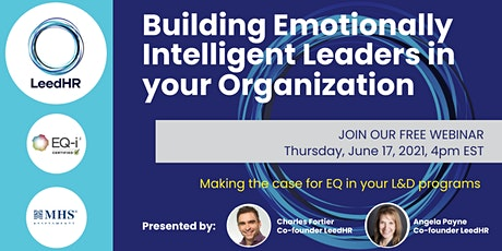 Building Emotionally Intelligent Leaders in your Organization tickets