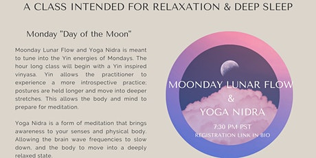 Moonday Lunar  Gentle Yoga Flow & Yoga Nidra with Kimi Moon tickets