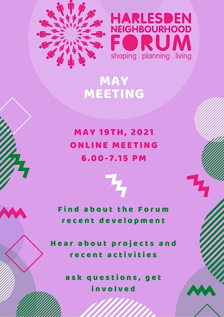 Harlesden Neighbourhood Forum -  May Meeting image