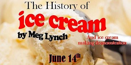 The History of Ice Cream in New York w/ DIY Ice Cream Making Demo biglietti