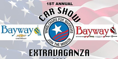 First Annual Car Show 2021- Wheelchairs for Warriors tickets