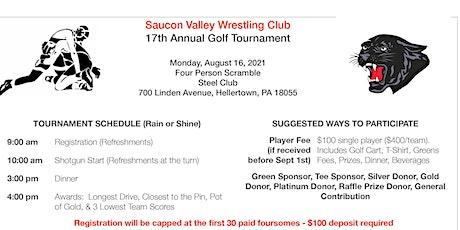SVWC 17th Annual Golf Tournament tickets