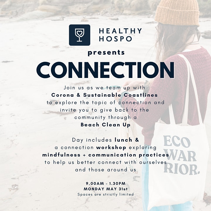 Healthy Hospo presents CONNECTION image
