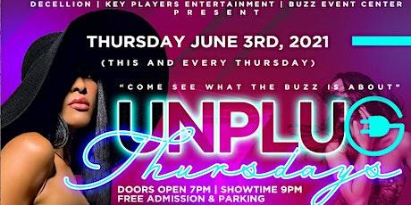 Unplug Thursdays tickets