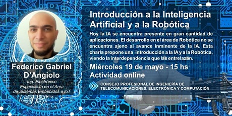 Introducción a la Inteligencia Artificial y a la Robótica boletos