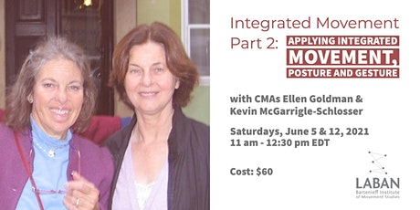 Integrated Movement Part 2: Applying Integrated Movement, Posture & Gesture tickets