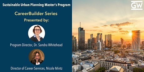 Sustainable Urban Planning CareerBuilder:  Alumni in Federal Planning tickets