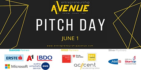 Entrepreneurship Avenue 2021 - Pitch Day tickets
