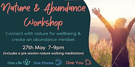 Nature and Abundance Workshop tickets