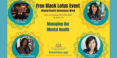 Mental Health Awareness Week tickets