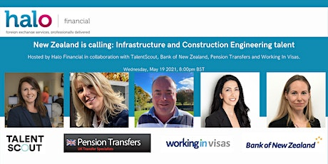 New Zealand is calling: Infrastructure and Construction Engineering talent tickets
