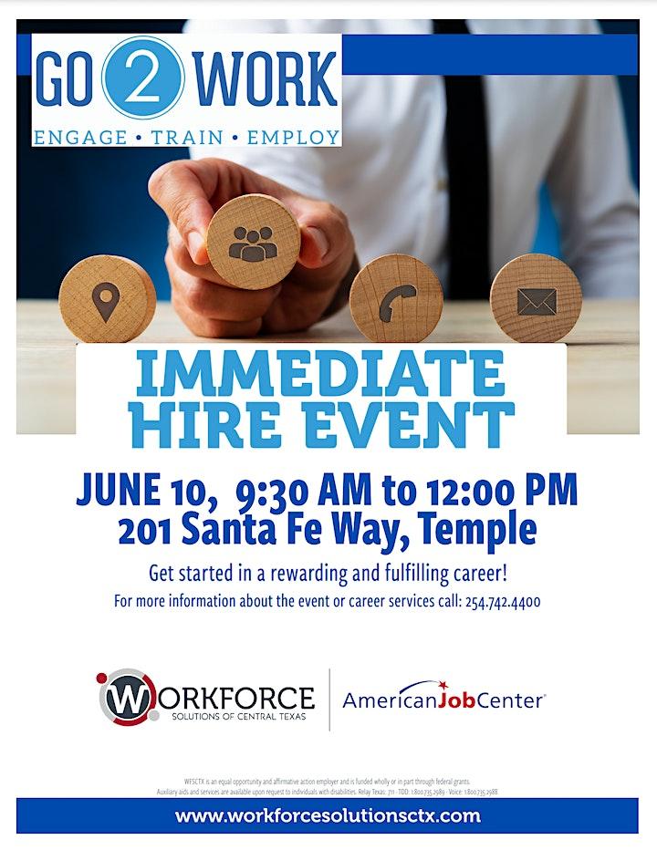 Go2Work Job Fair image