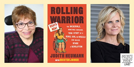 P&P Live! Judith Heumann and Kristen Joiner | ROLLING WARRIOR tickets