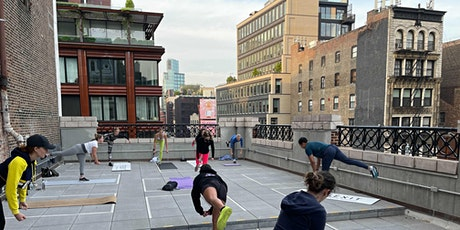 Free Rooftop Workout at Showfields NoHo with FlexIt tickets