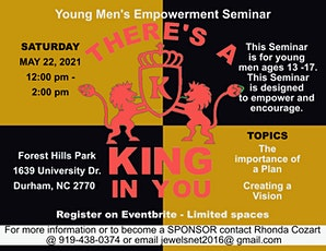 There Is A King In You tickets