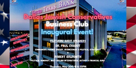 Dallas Jewish Conservatives Business Club Inaugural Event! tickets