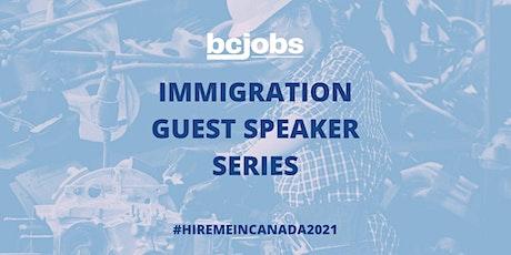 Meet Immigration Experts (#HireMeInCanada2021)  Ft. Sas & Ing tickets