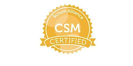 Certified Scrum Master (CSM) Virtual Training from Aakash Srinivasan tickets