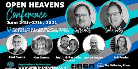 Open Heavens 2021 tickets