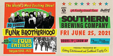 The Funk Brotherhood with special guests The Four Fathers tickets
