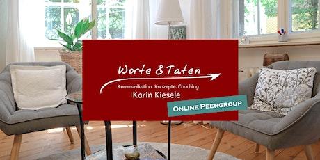 """Berliner Coaching Peergroup (Umgang mit """"realitätsfernen"""" Klienten-Zielen) tickets"""
