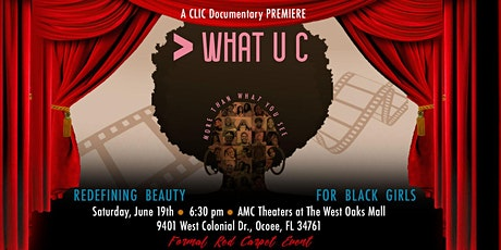 "CLIC Documentary PREMIERE : ""More Than What U C"" tickets"