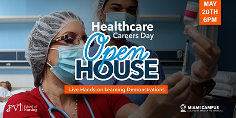 Healthcare Careers Day - Open House Miami Campus tickets