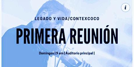 Primer Servicio LEVI/ CONTexcoco 16 mayo boletos
