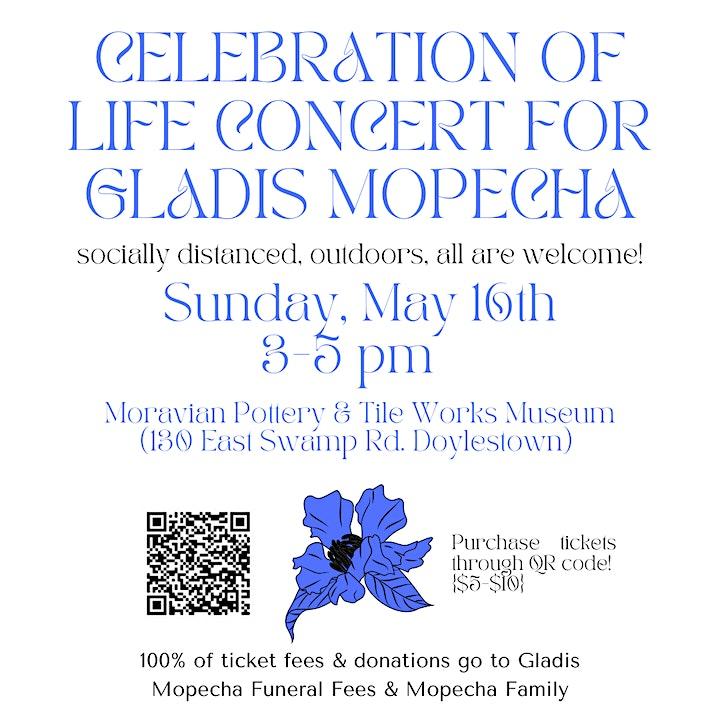 Celebration of Life Concert for Gladis Mopecha image