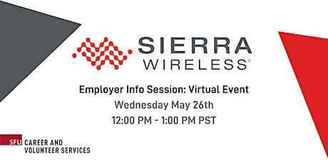 Sierra Wireless Info Session tickets