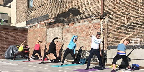 Free Rooftop Yoga at Showfields NoHo with FlexIt tickets