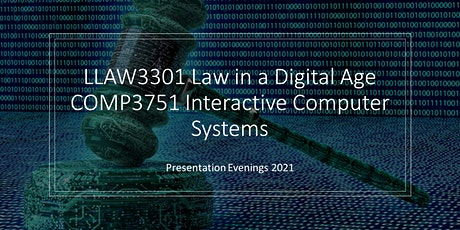 Law in a Digital Age - Presentation Evenings tickets