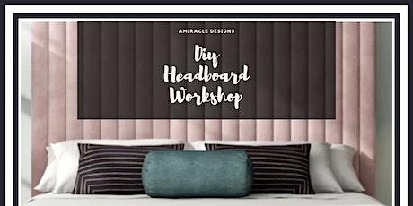 DIY Headboard Workshop tickets