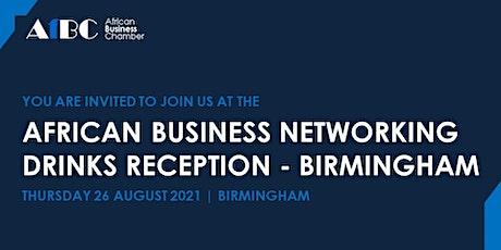 AfBC African Business Networking Summer Reception - Birmingham billets