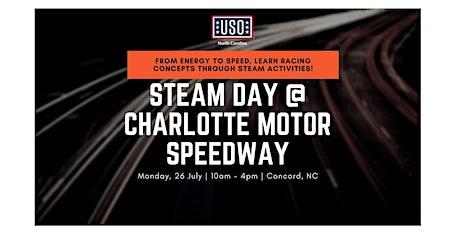 USO North Carolina STEAM Day @ Charlotte Motor Speedway tickets